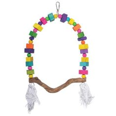 Empire Large Bird Cage 3157 Prevue Pet Products Tassel Necklace, Crochet Necklace, Large Bird Cages, Wood Arch, Wood Swing, Rope Knots, Wood Bird, Pet Cage, Bird Toys