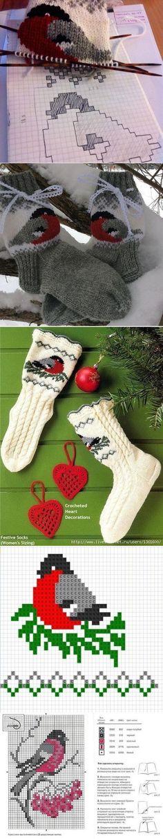 63 Ideas for knitting socks pattern tricot Baby Mittens, Crochet Mittens, Crochet Gifts, Knit Crochet, Baby Socks, Baby Slippers, Slipper Socks, Crochet Pattern, Crochet Slippers