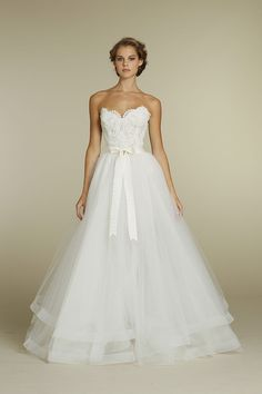 lace bodice with tulle skirt