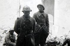 these 2 soliders on the french side were taken prisoner by the germans during the invaision of france in 1940