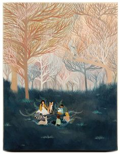 Beneath the Trees - Linda Kim