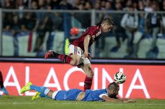 Fernando Torres of AC Milan in action during the Serie A match between Empoli FC and AC Milan at Stadio Carlo Castellani on September 23, 2014 in Empoli, Italy.