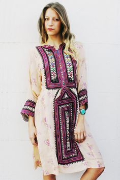 Afghani dress #outfit #dope #rad #festival #style #fashion #clothes #clothing