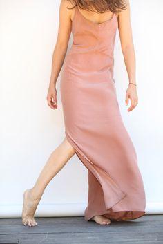Slip dress. But needs to be lighter & decorative