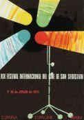 San Sebastian & International Film Festival poster 1971