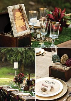 Game of Thrones Inspired Wedding {Rusic + Regal}