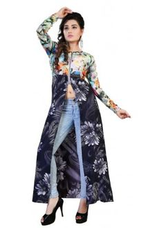 Party Wear Multicolour Gown - Swity2010