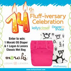 The Cloth Diaper Whisperer: 14 Days of Prizes Continues! Fluff-iversary Day 4