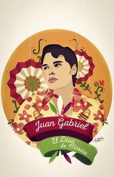 Los mejores homenajes artísticos de los fans a Juan Gabriel en las redes (FOTOS)…