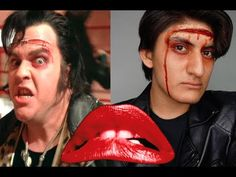 Eddie from The Rocky Horror Picture Show Makeup Tutorial Halloween 2017, Halloween Projects, Halloween Costumes, Rocky Horror Show, The Rocky Horror Picture Show, Rocky Horror Costumes, Show Makeup, 70s Party, Drag King