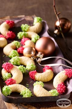Kokoskipferl: Bunte Kipferl für jede Jahreszeit
