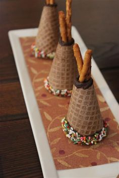 Ice Cream Cone Tee Pees -very cute!