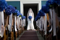 Tendencias de boda: el color azul #boda #tendencias #color