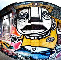 Paris 19 - rue de l'Ourcq - street art - da cruz