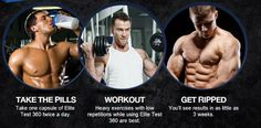 Get ripped with Elite Test 360