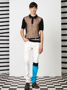 Jean Paul Gaultier Spring/Summer 2015 Collection image Jean Paul Gaultier Men 2015 Spring Summer Collection 020