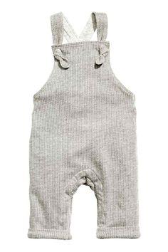 Salopette met tricot voering | H&M
