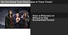 Your a Princess or Prince in the Enchanted Forest