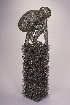 John McQueen. Blog:Arte conteporáneo a partir de técnicas de cestería.
