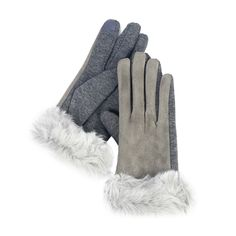 Faux Suede And Fur Texting Gloves- Faux Suede And Fur Texting GlovesBeautiful faux suede gloves with soft faux fur trim. The magic material allows for texting with both your thumb and index finger. Be stylish and techy, all at the same time. Texting Gloves, Fur Trim, Camel, Faux Fur, Winter Fashion, Stylish, Finger, Shopping, Magic