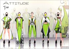 """""""Fashion Design Master Class"""" student competition finalists recent case"""