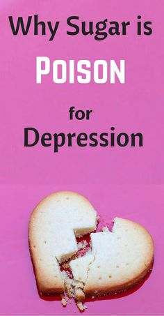 Many people who suffer from chronic severe depression and anxiety are allergic to sugar and foods like white flour that the human body processes like sugar.