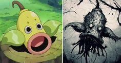 20 Lovable Pokemon Reimagined as Creepy Monstrosities