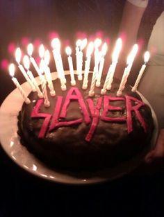 Slayer Cupcakes Heavy Metal Coffe Pinterest - Slayer birthday cake