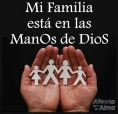 my family is in God´s hands All Names, Names Of Jesus, God Loves Me, God Is Good, Spiritual Quotes, Christianity, Best Quotes, Prayers, Lord