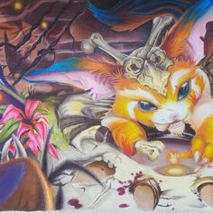 Gnar piece done over the past month