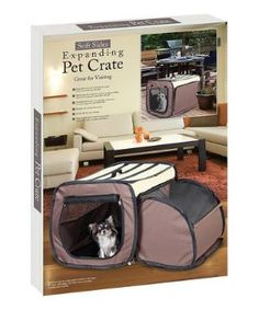 Expandable Pet Crate $39.99 by Zulily