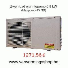Zwembad Warmtepomp 6,8kW Promotie www.verwarmingsshop.be