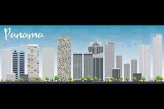 #Panama #City #skyline by Igor Sorokin on Creative Market