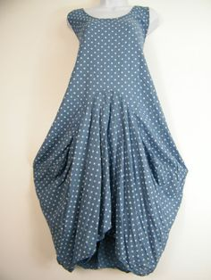 Plus size 100% cotton lagen look spotty dress in 7 colours to fit sizes 16-22