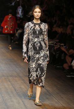 Dolce & Gabbana Women Fashion Show Gallery – Fall Winter 2014 2015 Collection