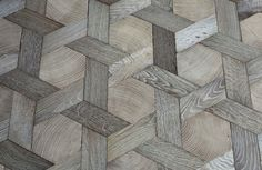 Beauty at your feet..Basket Weave Wood Floor - Get creative with your floors! #renovations #woodfloors