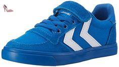 hummel Slimmer Stadil, Sneakers Basses Mixte Enfant, Bleu (Imperial Blue),  32