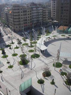 Plaza de Indautxu / JAAM sociedad de arquitectura. Visit the slowottawa.ca boards  http://www.pinterest.com/slowottawa/