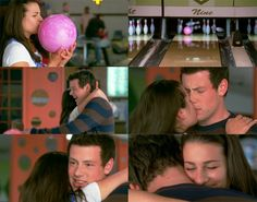 glee rachel and finn | Glee: Rachel and Finn Kiss by ~JuanitoTheVampire on deviantART
