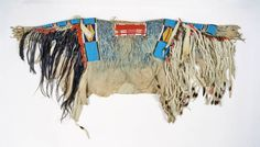 Crow shirt, owned by Little Bluff, Kiowa NMNH