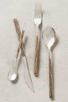 Zellena Flatware #anthropologie