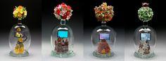 Tim Tate, Artist, Four Seasons - (Penland Summer Auction 2011) glass, video