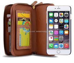 http://www.dhgate.com/product/luxury-wallet-phone-case-for-iphone-7-6-6s/393226787.html Luxury wallet phone case for iphone 7 6 6s plus 5s S7 PC leather mirror Protective cover case Magnet defender cases 2 zippers