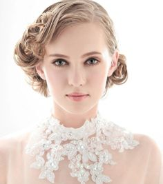 Short Hairstyles for a Wedding_03