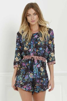 Gypsy Queen Romper By Spell The Gypsy Collective BLACK: Jumpsuits & Rompers | ZAFUL