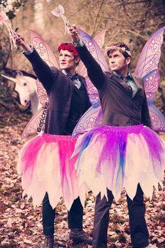 BWAAAHAHAHAHAHAHAHAHAHAHAAAA!! :'D Why hadn't I thought of doing this to them? It's so perfect!
