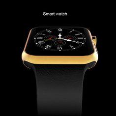 Smartwatch Bluetooth Smart watch Armbanduhr für Apple iPhone IOS Android Telefon Intelligente Uhr Sportuhr Anrufe SMS Erinnerung //Price: $US $57.77 & FREE Shipping //     #smartwatches