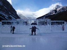 Jaqueline durfte das Schloss aus Eis während ihres #WorkandTravel Aufenthalts in Kanada bestaunen.