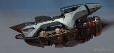 concept ships: MONTHLY HEADER #75: SCOTT ROBERTSON