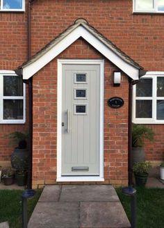 front porch ideas on a budget ; front porch ideas on a budget diy Porch Uk, House Front Porch, Small Front Porches, Porch Doors, Front Porch Design, Porch Entrance, Entrance Ideas, Hallway Ideas, Door Ideas